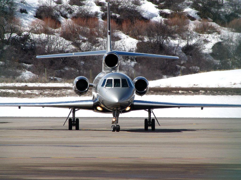 private jet aspen