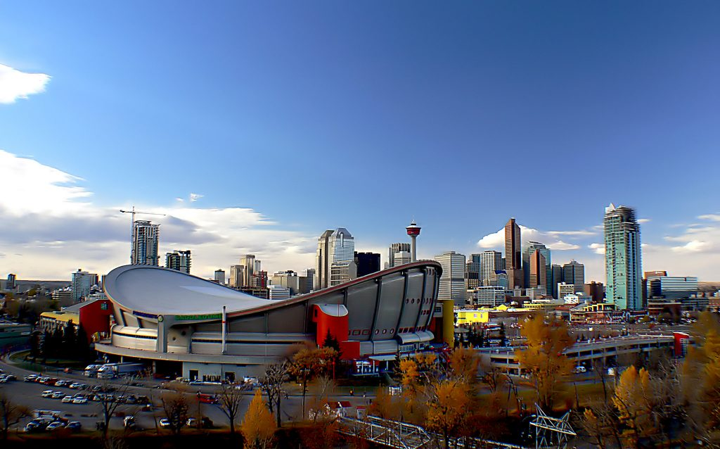 private flights to and from calgary