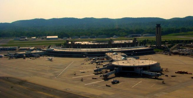 charter planes at Birmingham-Shuttlesworth International Airport
