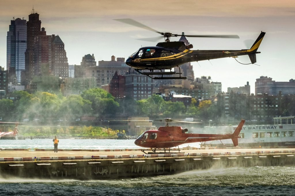 NYC Helicopter US Open 2017