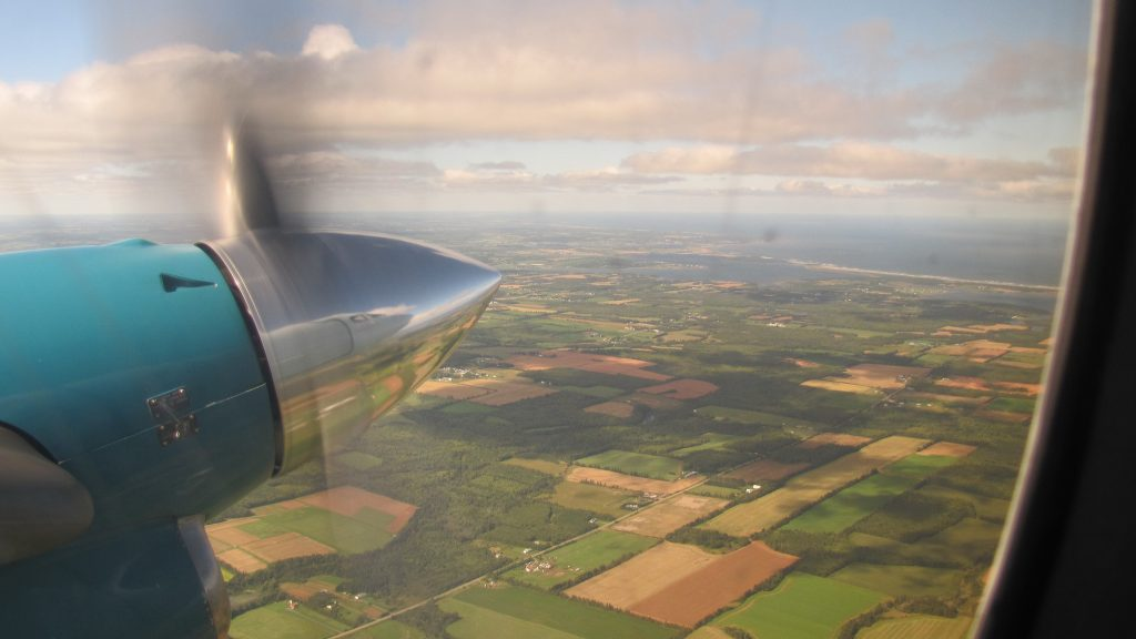 PEI charter planes