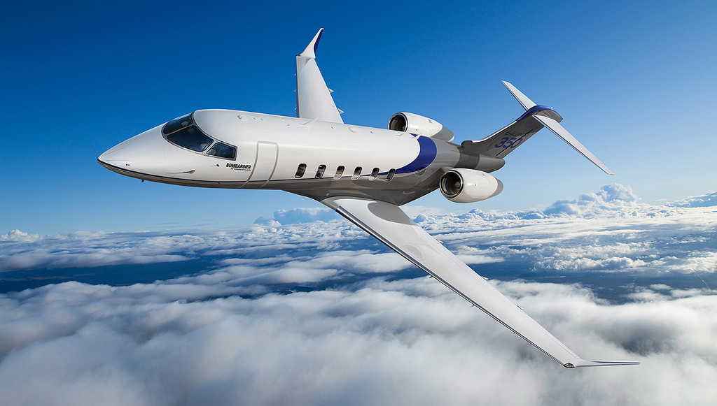 Challenger 350 jet charter services