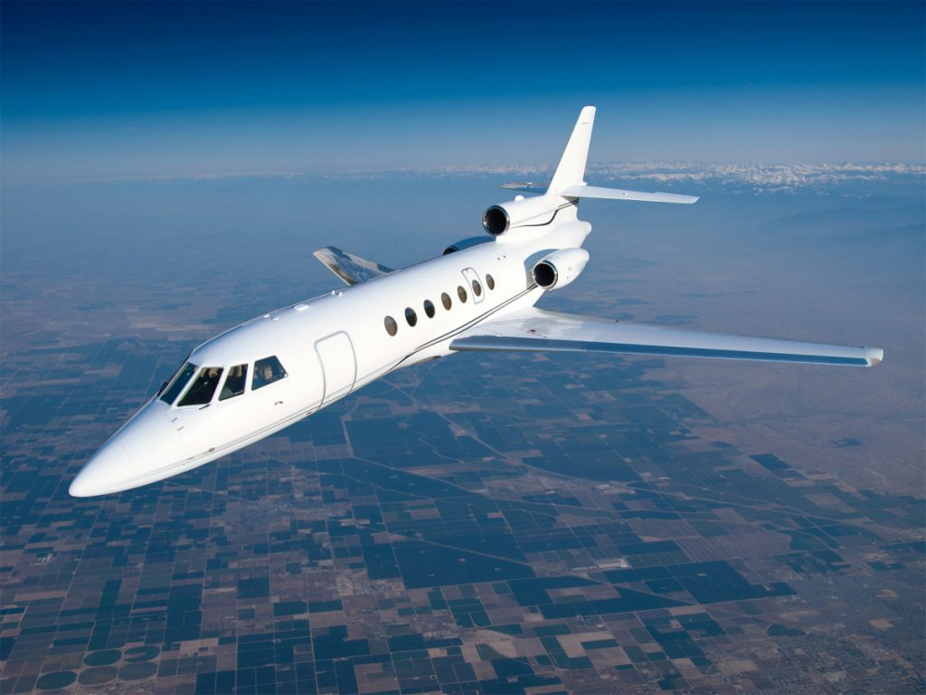 Private Jet Quote Falcon 5050Ex  Private Jet Charter  Super Midsize Jet