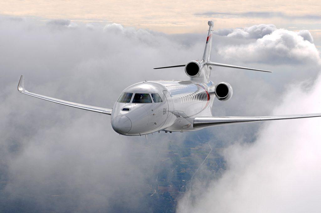 Dassault Falcon 8x jet charter services