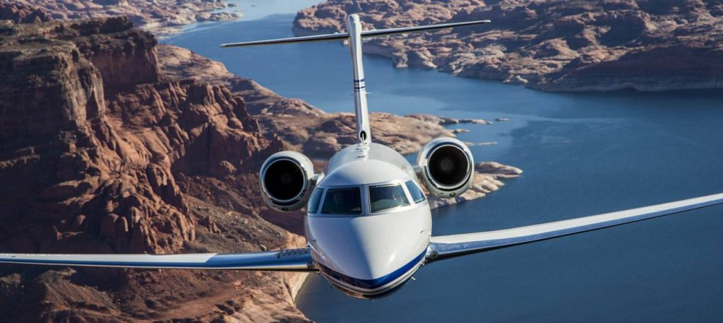 Gulfstream G280 business jet