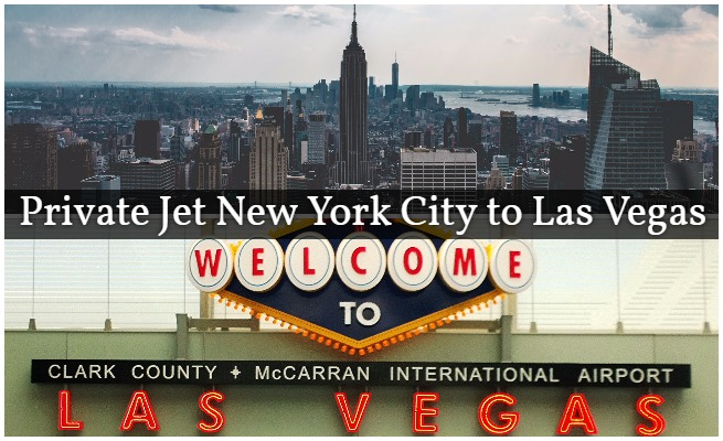 Private Jet NYC to McCarran