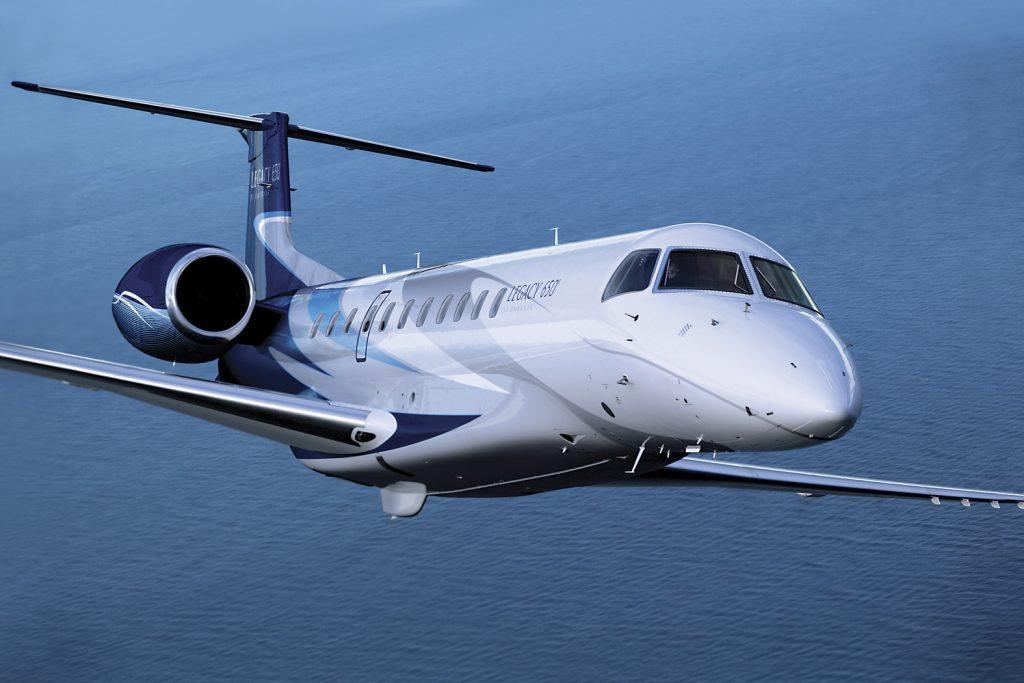 Legacy 600 business jet