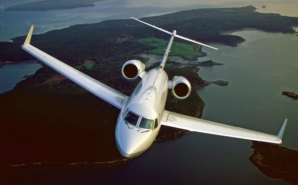 Gulfstream G4 jet