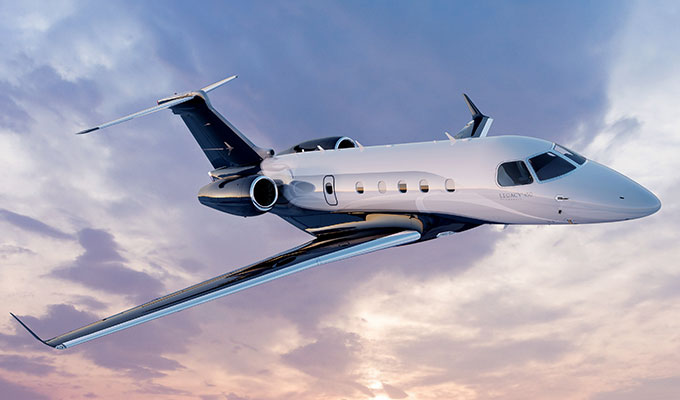 Embraer Legacy 450 business jet