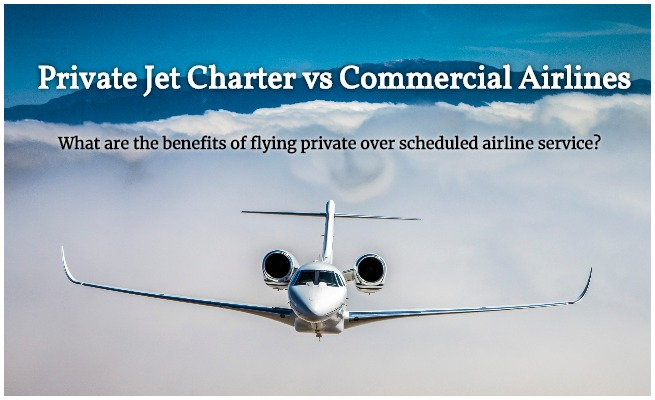 Private Jet vs Commercial Airlines