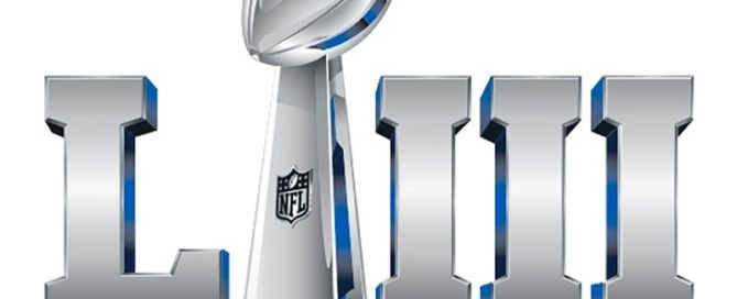 2019 Super Bowl 53 LIII Logo