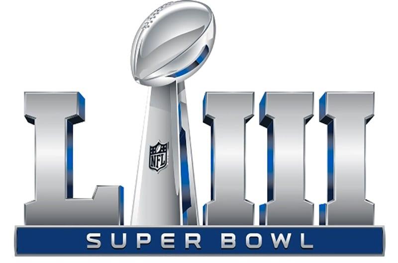 Logo for Super Bowl LIII