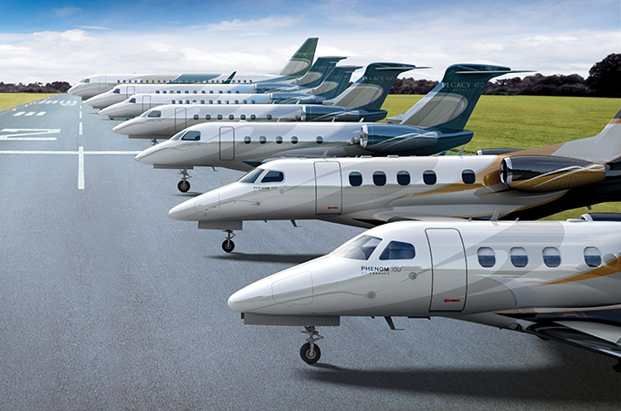 charter an embraer executive jet