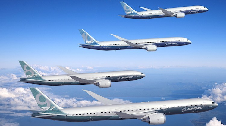 boeing airliners for charter