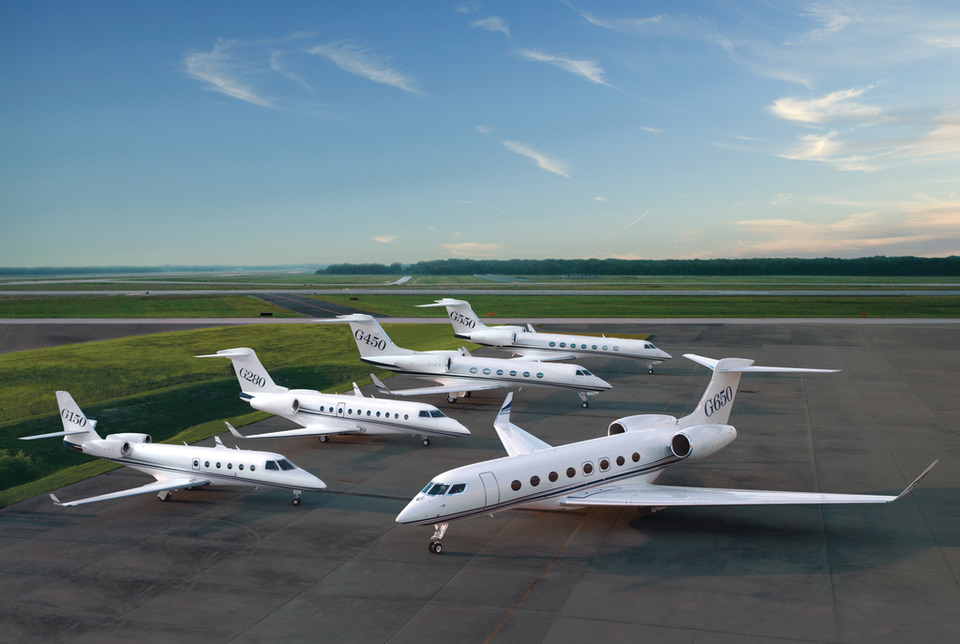 gulfstream business jets for charter
