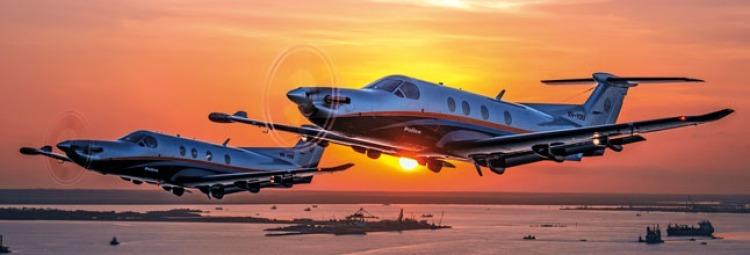 charter a pilatus turboprop aircraft
