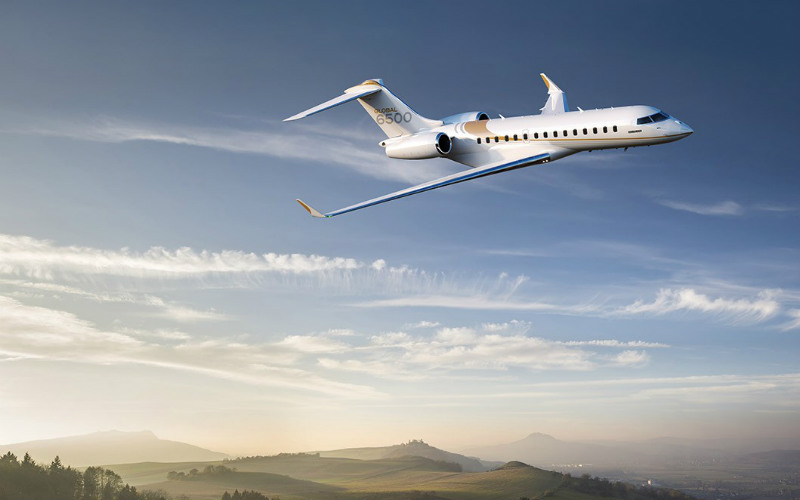 global 6500 charter services