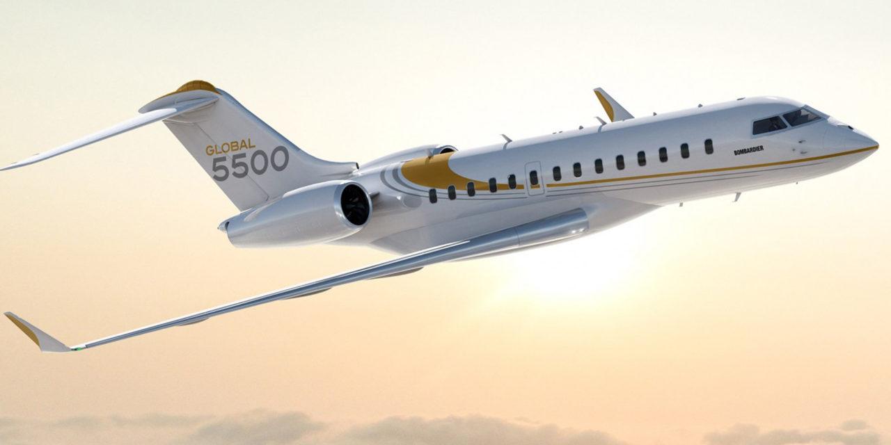 Global 5500 charters