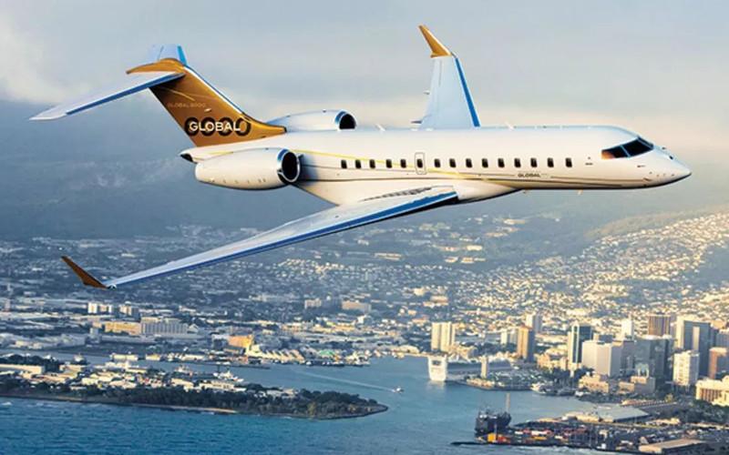 Global 6000 charter jet