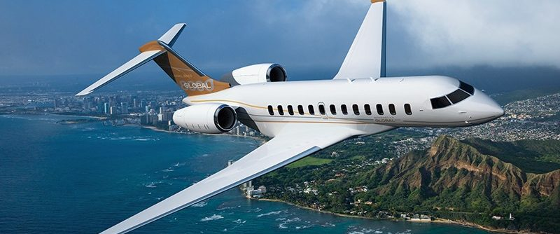 Bombardier Global 8000 business jet