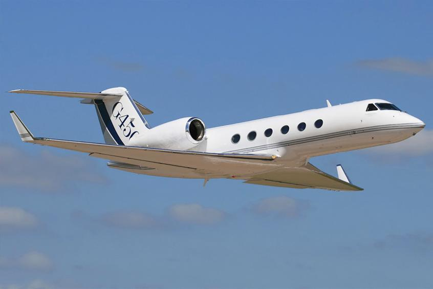 G450 private jet
