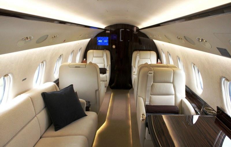 Gulfstream G350 interior cabin