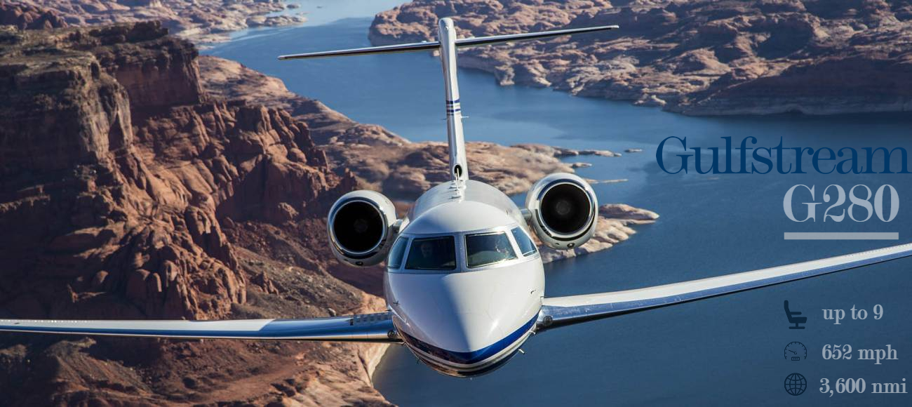 Gulfstream G280 business jet