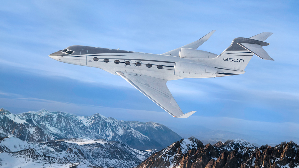 Gulfstream G500 business jet