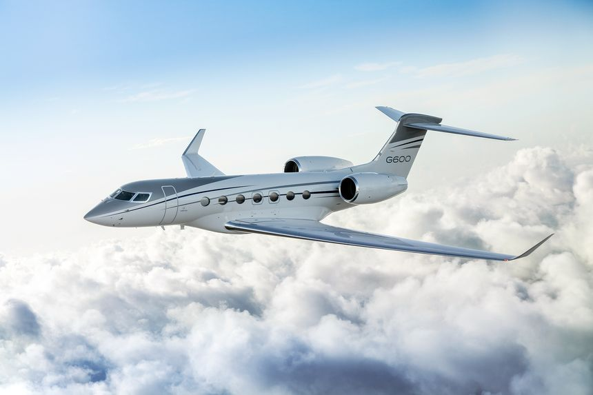 Gulfstream G600 charter jet