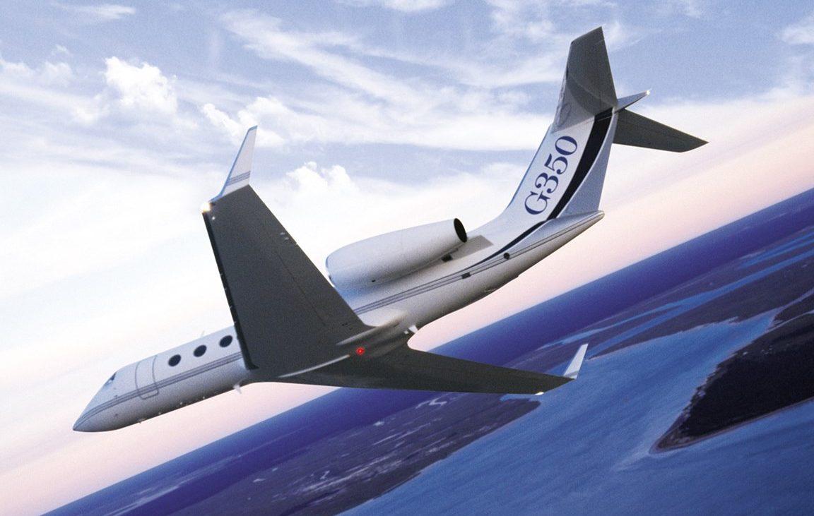 Gulfstream G350 charter jet