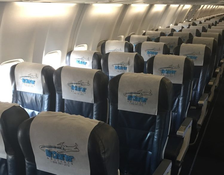 charter flights for large groups
