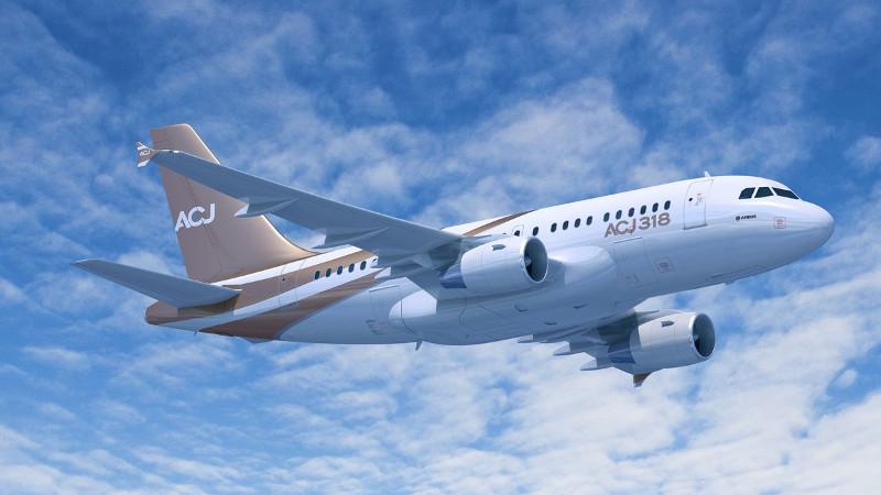 Airbus ACJ318 Corporate Jet