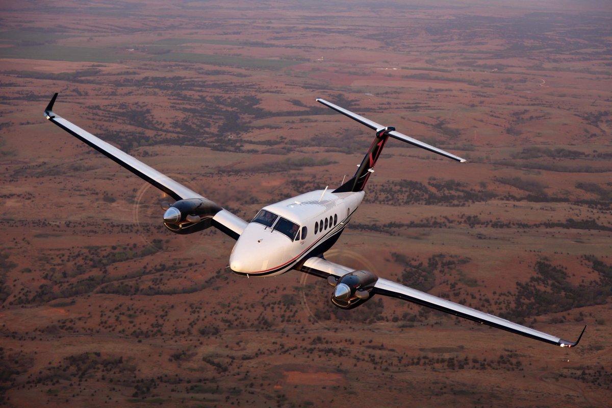 King Air 250 charter plane