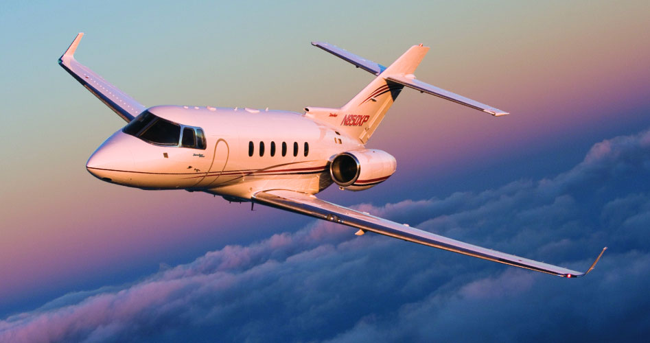 Hawker 850XP jet charter services