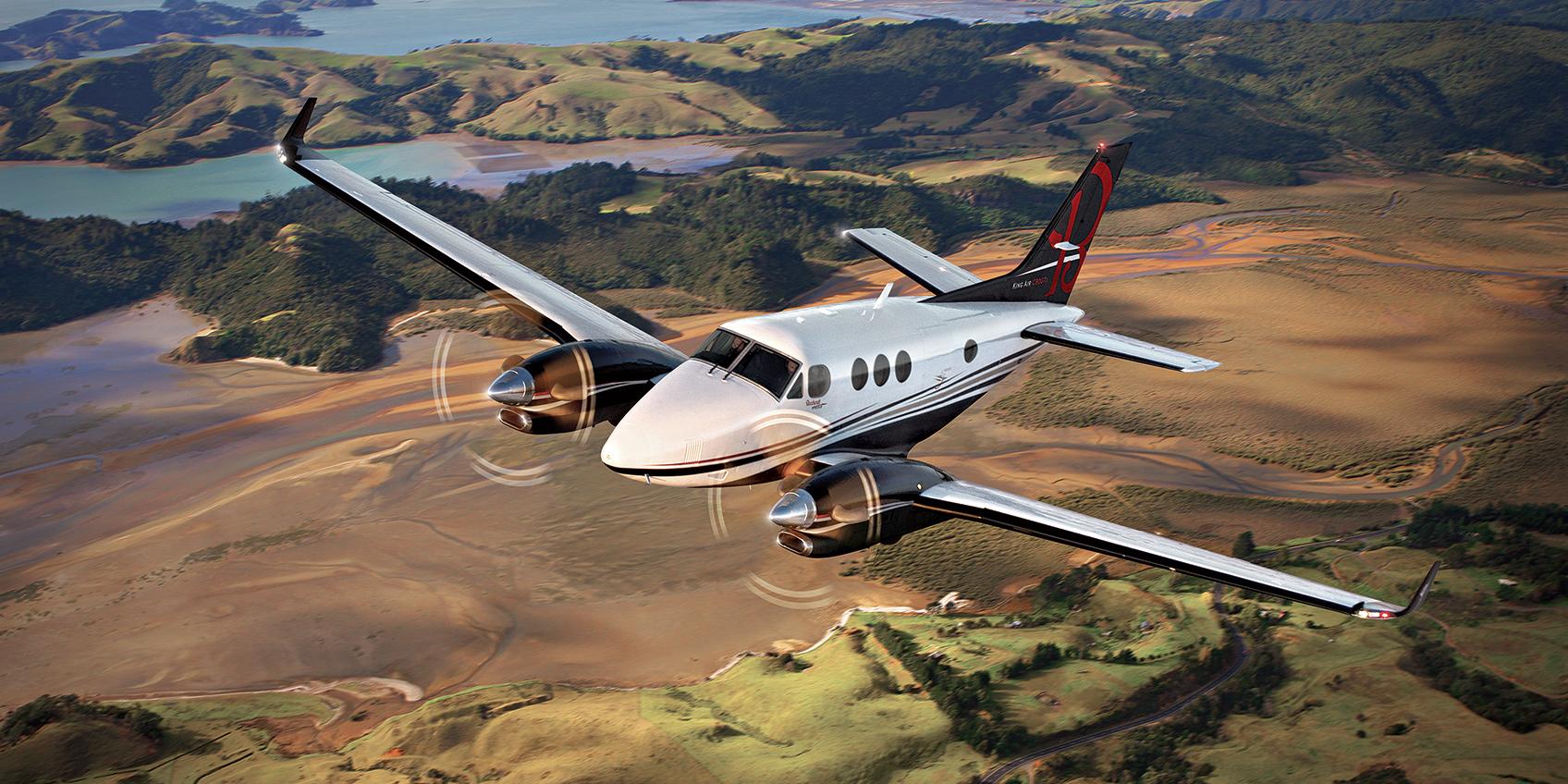 King Air C90GTx charter