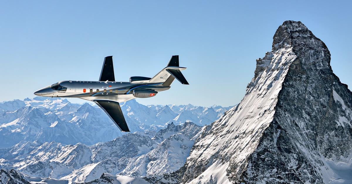 Pilatus PC-24 charter services