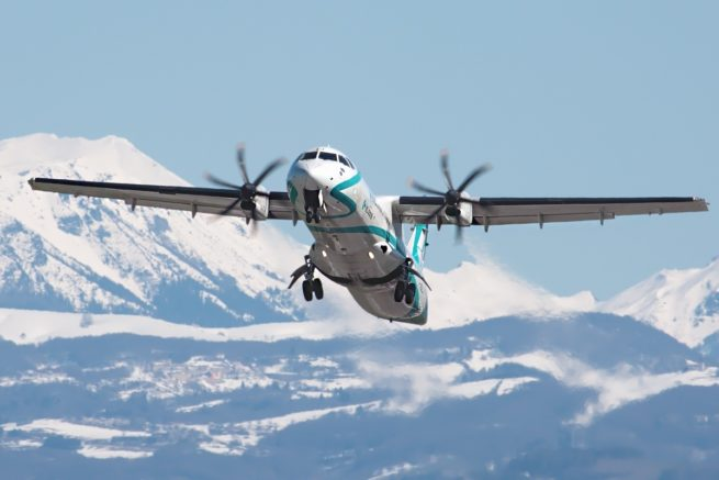 ATR 72 air charter services