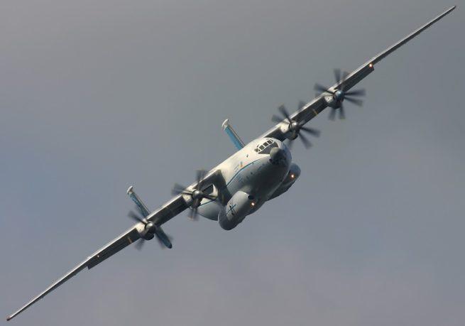 Antonov An-22 cargo aircraft