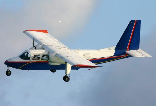 Britten Norman Islander air charter services