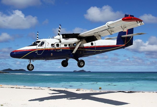 DHC 300 Twin Otter air charter services