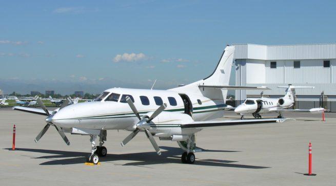 Swearingen SA-226 Merlin turboprop