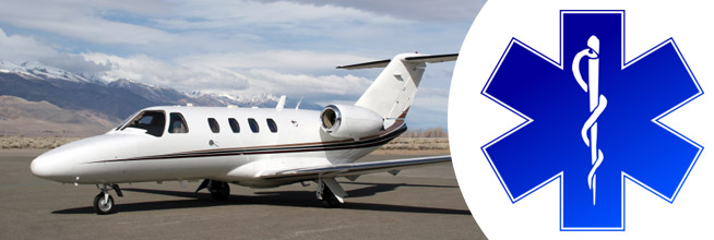 medical air charter and non-emergency transportation