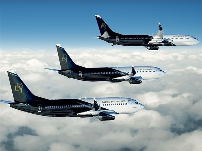 Boeing BBJ charter