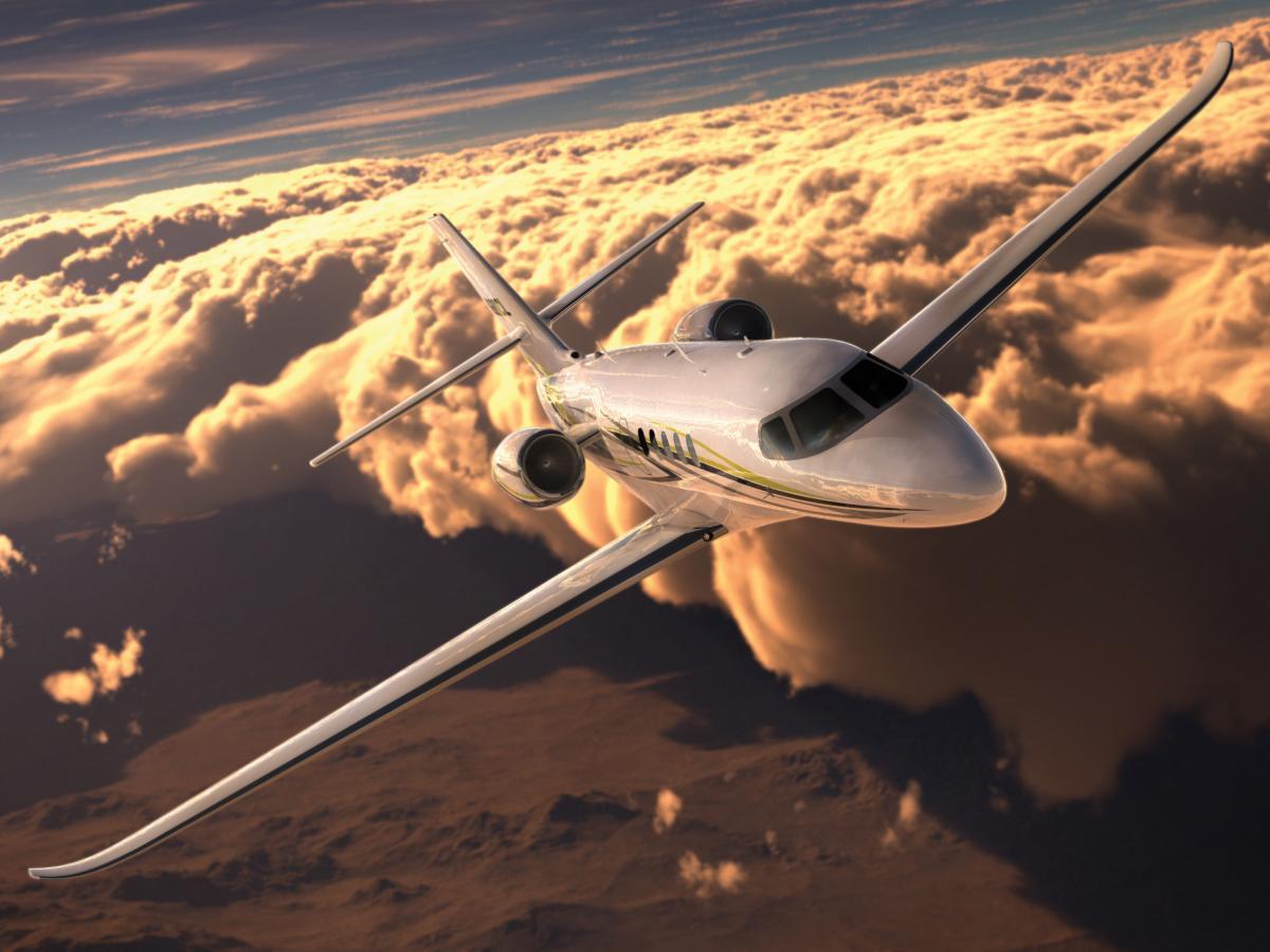 Citation Latitude Midsize Jet