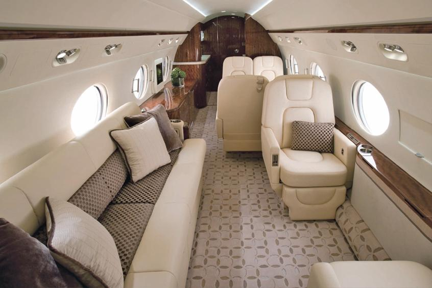 Gulfstream G350 cabin