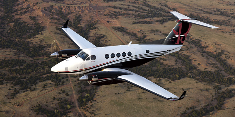 King Air 250 turboprop