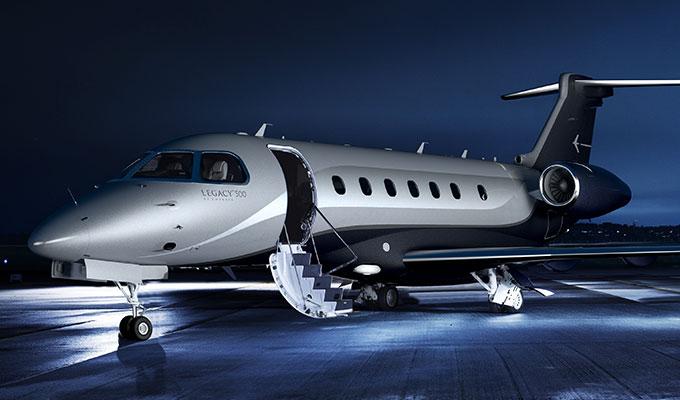 Legacy 500 Super Midsize Corporate Jet