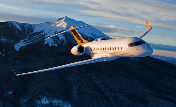 Private Jet Charter Bombardier Global Express 5000