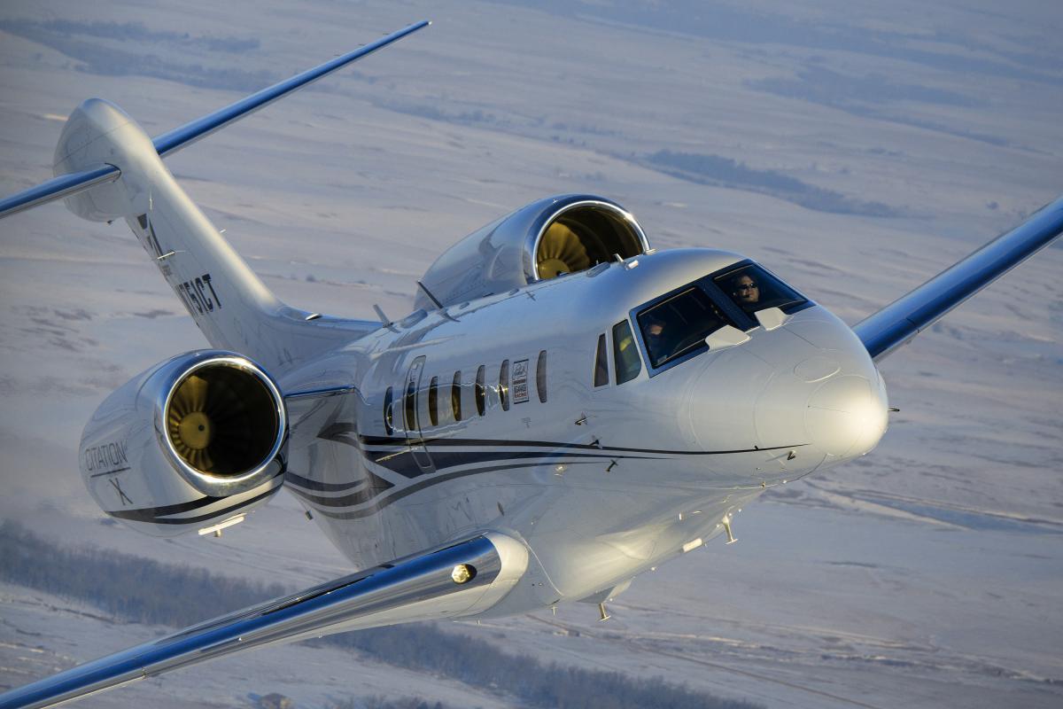 Private Jet Charter Citation X